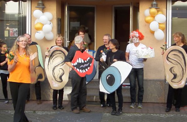 Kindertheater Ringelsocke Applaus und DANKE an alle